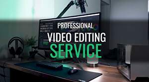I will do professinal video editing 24 hours