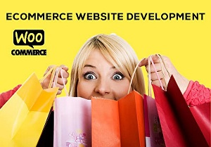 I will design ecommerce website online store with WordPress woocommerce