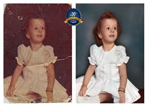 I will restore old photos, fix, and colorize in 24hr