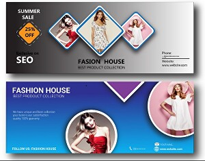 I will do professional Facebook cover photo and banner design