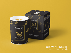 I will do custom candle label or  product label design, candle box design & candle logo d