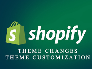 I will do your Shopify store customization and changes