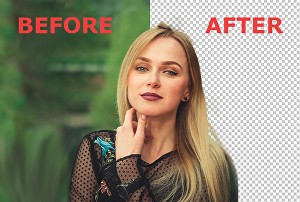 I will  remove background from 20 images