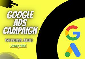 I will be your Google AdWords ads and PPC campaign manager