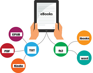 I will convert your ebook to formats like PDF, ePub, HTML, LIT, LRF, Mobi, and more