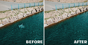 I will remove objects from images and edit photos in photoshop