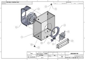 I will do 3d model of sheet metal design and dxf for laser in solidworks