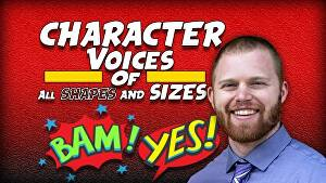 I will record a Character Voiceover or be your Video Game Voice Actor within 24 hours