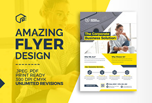I will design a professional flyer ,leaflet, poster, or a brochure