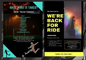 I will Design corporate flyer or modern event flyer