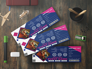 I will design stunning tickets and invitation cards for any event
