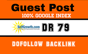 I will Write and Publish Guest Post on selfgrowth.com