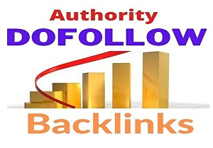 I will create niche related 100 dofollow authority backlinks