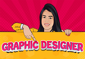 I will do any graphics designing task for you professionally