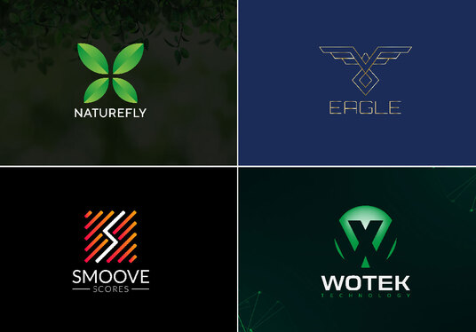 design modern minimalist 3d icon logo for business and company