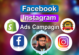 I will setup and manage your Facebook ads, Instagram ads campaign