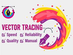 I will redraw logo or vector tracing anything with fast delivery