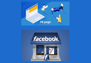I will create &design facebook business page and Shop