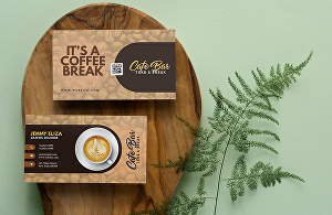 I will design a custom business card for you or your brand