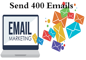 I will send 400 emails manually one by one in one day