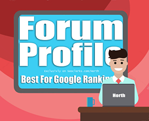I will Create 7000 forum profiles backlinks to improve your website Ranking