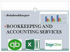 I will do bookkeeping and accounting using QuickBooks Online