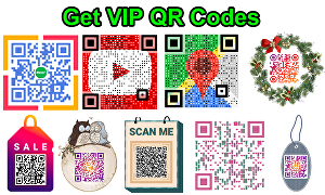I will make your VIP QR code within one day
