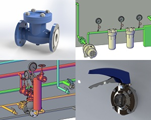 I will create 3d models and provide mechanical product design solutions in solidworks