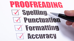 I will proofread or copyedit your documents of any length
