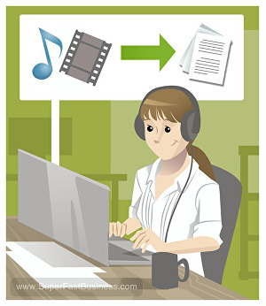 I will accurately transcribe 500 words of any content - text, audio or video