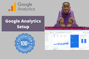 I will setup google analytics for your Shopify, WordPress, or any website