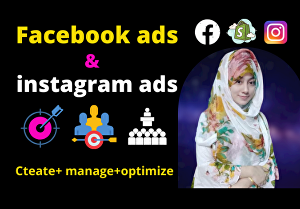 I will be your facebook ads campaign manager, run fb ads campaign, shopify fb ads