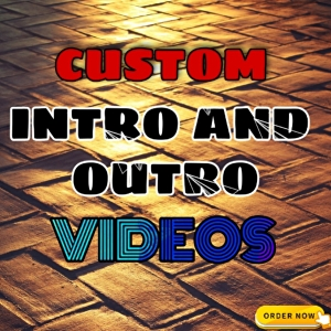 I will create your next Stunning intro and outro