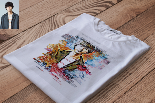 design a tshirt with your face cartoon character
