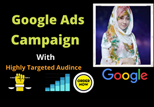 I will setup google ads adwords PPC campaign from scratch