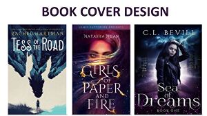 I will create a beautiful book cover for you