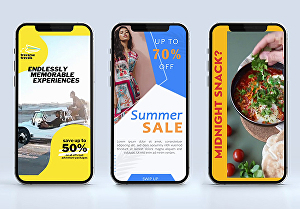 I will create creative and engaging Snapchat ads