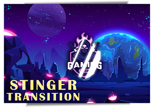 I will create stinger transition for twitch