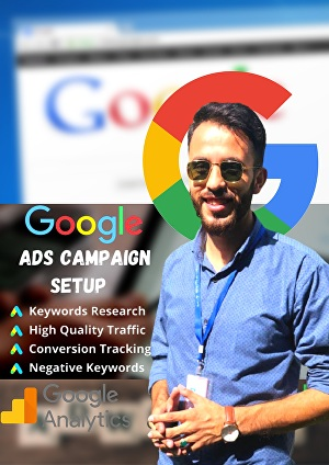 I will create and manage Google Ads Campaign