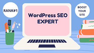 I will do completely white hat SEO,  on page SEO off Page seo and technical seo of your site