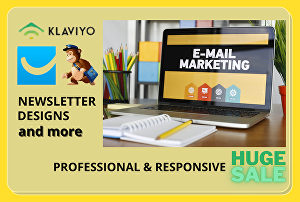 I will do email marketing campaign, automation, flows on convertkit, mailchimp etc