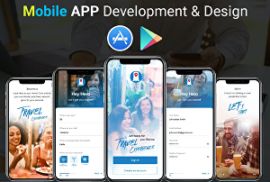 I will do mobile app development for IOS and Android
