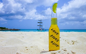 I will  put your stamp message on the yellow bottle