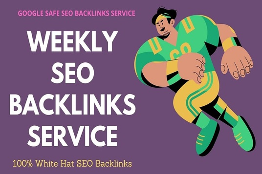 do TOP weekly SEO link building backlinks service