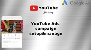 I will create and manage YouTube ads campaign on Google adsWords