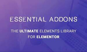 I will install lifetime updatable essential addons pro for elementor