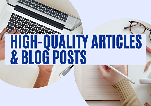 I will write a 150 words high quality article or blog post