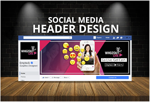 I will Create Great Looking Banner or Header Image for Your Website or Blogs
