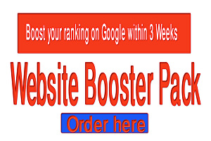 I will Boost your ranking on Google within 3 Weeks