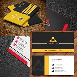 I will create a professional, unique, elegant and modern business card for your business